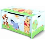 Ladita din lemn pentru depozitare jucarii Disney Winnie the Pooh