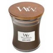 Woodwick Medium Candle Amber&Incense