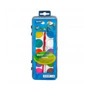 Acuarele Lambo 12 culori cu pensula L360K12