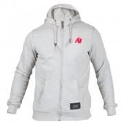 Gorilla Wear Classic Zipped Hoodie Grey - S