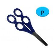 Nůžky dvojité terapeutické pro praváky 17cm