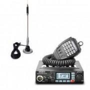 Pachet statie radio CB Avanti Primo codificare CTCSS functie DTMF + antena CB Bytrex MiniPlus