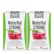 Sensilab WaterOut Strong - Abnehmen + Körper entwässern. Himbeergetränk. 2x10 Beutel