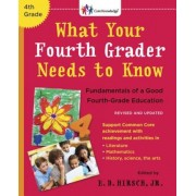 What Your Fourth Grader Needs to Know: Fundamentals of a Good Fourth-Grade Education, Paperback
