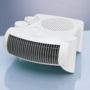 Clatronic HL 3379 - Calefactor, 2 niveles de temperatura, función ventilador, 2000 W, color blanco