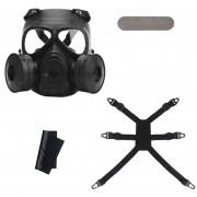 Máscara de gas caliente máscara respiratoria de Derechos CS Cosplay de equipo de campo de protección