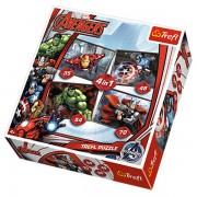 Trefl Puzzle Slagalica 4u1 Avengers (34245)