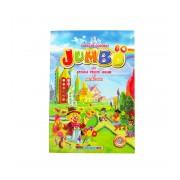 Carte de colorat cu animale, fructe, legume si abtibilduri, A4 80 pagini Eurobookids vol. 5