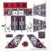 "LEGO Original -STICKER SHEET- for The Legends of Chima Set #70009 ""Worriz's Combat Lair"""