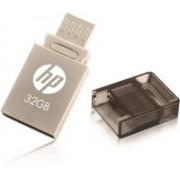 HP V510M 32 GB OTG Drive(Grey, Type A to Micro USB)