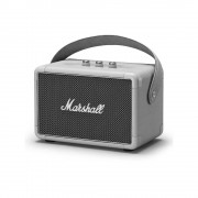 Marshall Kilburn II - безжичен портативен аудиофилски спийкър за мобилни устройства с Bluetooth и 3.5 mm изход (сив)