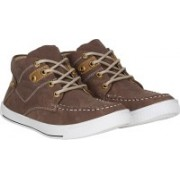 Knot n Lace Lucky High Tops For Men(Brown)