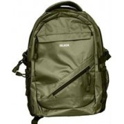 Black Series 15.6 Inch Sports Backpack-Green ,