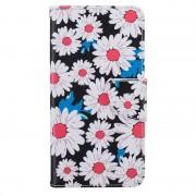 Capa tipo Carteira Glam para Huawei Y5II - Flores