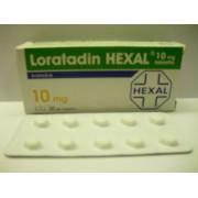 LORATADIN HEXAL TABL. 10MG 30X