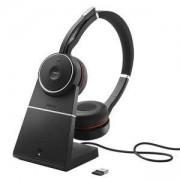 Слушалки с микрофон Jabra Evolve 75 Stereo UC Charging Stand Bluetooth, 7599-838-199