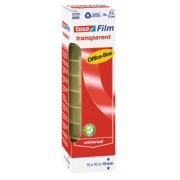 tesafilm Kancelárska páska TRANSPARENT, kancelárske Komínková balenie, 8ks 33m x 19mm 57405-00002-00