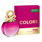 Benetton colors de benetton pink 80 ml eau de toilette edt spray profumo donna