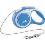 Flexi Comfort Retractable Dog Lead - Blue 8m-12kg