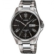 Casio Enticer Analog Black Dial Mens Watch - Mtp-1384D-1Avdf (A879)