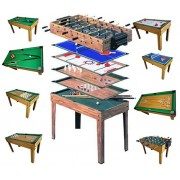 Tischfußball Billard Hockey 9in1 Multiplayer ~ Variantenangebot