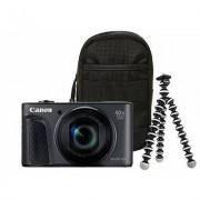 Canon Aparat CANON PowerShot SX730 HS Czarny Travel kit