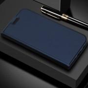 Dzgogo ISkin Serie Ligera Frosted PU + TPU Caso De Xiaomi Mi - Max 3 (azul)