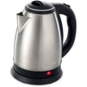 Mezire ™SC-1838 Hot Water Pot Portable Boiler Tea Coffee Warmer Heater Cordless Electric Kettle (1.8 L, Silver) Electric Kettle(1.8 L, Silver)