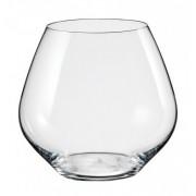 Комплект 2 бр. чаши от кристалин за вино Bohemia Crystalex Amoroso 440 мл