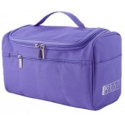 Expeditious Multifunction Zipper Toiletry Bags Travel Organizer Wash Storage Bags Makeup Bags Cosmetic Case – Purple Color Travel Toiletry Kit(Purple)