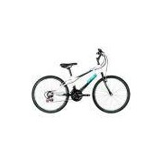 Bicicleta Caloi Max Aro 24 21 Marchas MTB - Branco