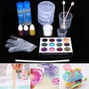 Tradico® TradicoBrand New 29pcs DIY Make Slime Crystal Mud Making Kit Kids Games Children Educational Toy