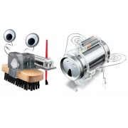 4 M Brush Robot With Soda Can Robug