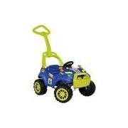 Carrinho Smart Passeio e Pedal Azul - Brinquedos Bandeirante
