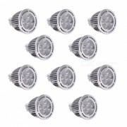 YWXLight MR16 5W 5-LED SMD 3030 Proyector LED blanco calido (10 PCS)