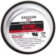 Baterie litiu ER22G68 cu pini de lipire, 3,6 V, 400 mAh, EVE