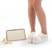 Pantofi de mireasa cu poseta inclusa Adria (Marime: 40 EU)