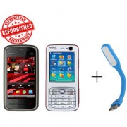 Refurbished Nokia 5233+ Nokia N73+USB LED
