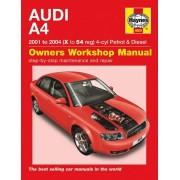 Haynes Workshop manual Audi A4 essence et diesel (2001-2004) 4609