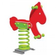 Balansoar Pe Arcuri Pony - Varianta - Ingropat