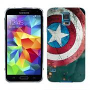 Husa Samsung Galaxy S5 Mini G800F Silicon Gel Tpu Model Captain America