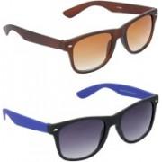 Redleaf Wayfarer Sunglasses(Brown)