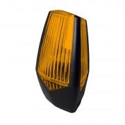 Lampa LED de semnalizare Motorline MP205, flash, IP54, culoare galbena