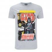 Star Wars Men's Empire Strikes Back T-Shirt - Grey - S - Grey