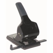 Perforator 65 Coli Model P865 metalic Negru Noki negru Metal + Plastic Perforator birou 61-100 coli cu 2 perforatii
