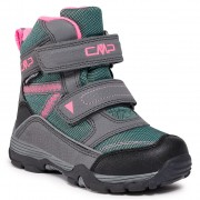 Cizme de zăpadă CMP - Kids Pyry Snow Boot Wp 38Q4514 Graffite Acqua 14UF
