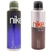 Nike Deodorants Original and Up or down for Men 200ml Each (Pack of 2)