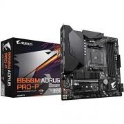 Gigabyte B550M AORUS Pro-P (AMD Ryzen 3000/B550/Micro ATX/M2/HDMI/DVI/USB 3.2 Gen 2/DDR4/placa Madre)
