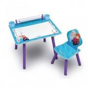 Set 1 Scaunel si Masuta Pentru Creatie Happy Kid - Frozen
