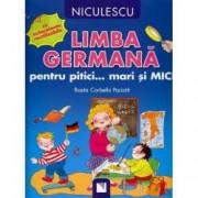 Limba germana pentru pitici... mari si MICI cu autocolante reutilizabile